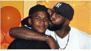 Trayvon and Tracy Martin